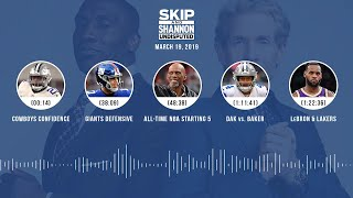 UNDISPUTED Audio Podcast (03.19.19) with Skip Bayless, Shannon Sharpe & Jenny Taft | UNDISPUTED
