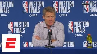 Steve Kerr says while Game 3 performance was great, Warriors need to be prepared for Game 4 | ESPN - Video Youtube