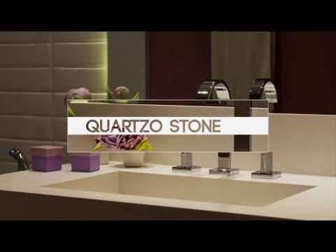 Quartzo Stone - Uma pedra moderna para sua cozinha e banheiros