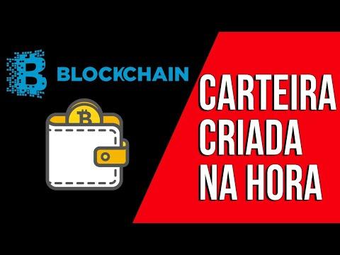 Crie AGORA sua carteira Blockchain || Carteira para Bitcoin
