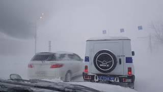 Метель на Сахалине (г. Южно-Сахалинск) 02.03.2018