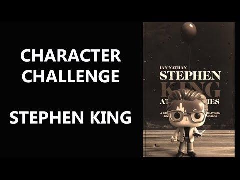 CHARACTER CHALLENGE - STEPHEN KING ? | Biblioteca da Rô