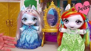 Gambar cover Las bebes unicornio jugando de princesas | Muñecas y juguetes con Andre para niñas y niños