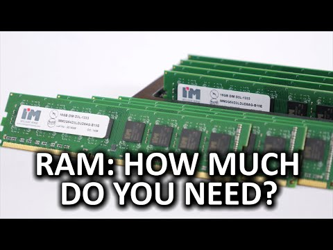 Ram - how much do you really need? — polycount