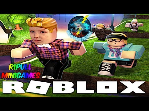 Tower Takedown Take Two and more Minigames - Electroshark plays more Ripull Minigames on Roblox