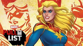 These Heroes Need A Helping Hand! CAPTAIN MARVEL #1 and More!   Marvel's Pull List