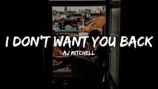 AJ Mitchell - I Don't Want You Back (Lyrics)