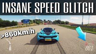 Driving over 860km/h !!! | Forza Horizon 4 | Insane NEW Topspeed Glitch!!