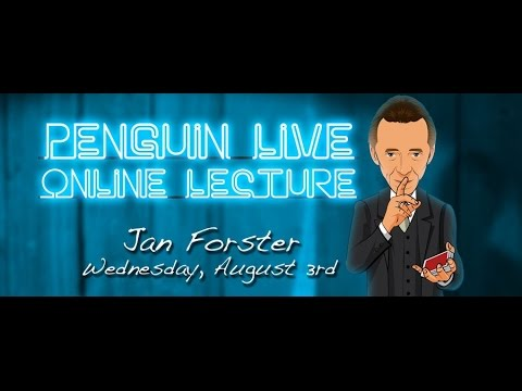 Penguin Live Lecture - Jan Forster ACT