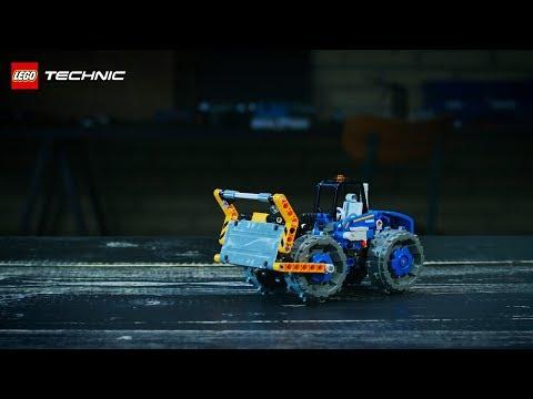Vidéo LEGO Technic 42071 : Le bulldozer
