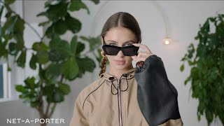 The Fall/Winter Fashion Challenge with Iris Law | NET-A-PORTER