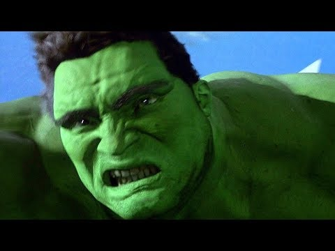 Hulk vs Jet Fighter - Falling Scene - Hulk (2003) Movie CLIP HD