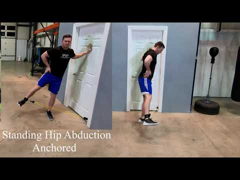 Standing Resistance-Band Hip Abduction