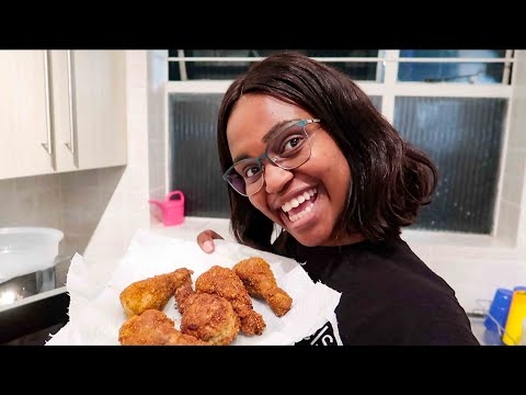 Easy Fried Chicken Recipe | Buhle Lupindo
