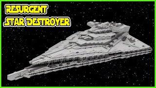 LEGO First Order Resurgent Star Destroyer   STAR WARS  