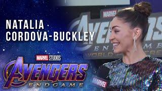 Agents of S.H.I.E.L.D. Natalia Cordova-Buckley LIVE from the Avengers: Endgame Premiere