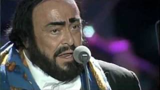 James Brown and Luciano Pavarotti Its a Mans World Music