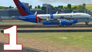 FLIGHT SIM 2018 (Ovilex) - Gameplay Walkthrough Part 1 - iOS / Android Tutorial