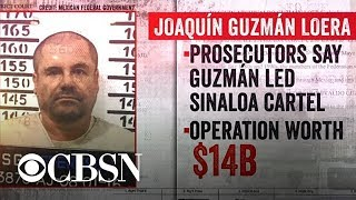 "Joaquin ""El Chapo"" Guzman trial underway in N.Y."