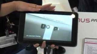 LG Optimus Pad - Product Demo: Great Device for Work and Play