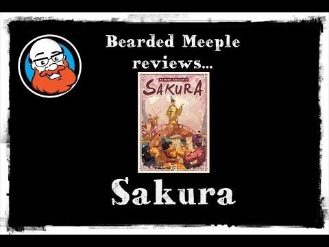 Bearded Meeple reviews : Sakura