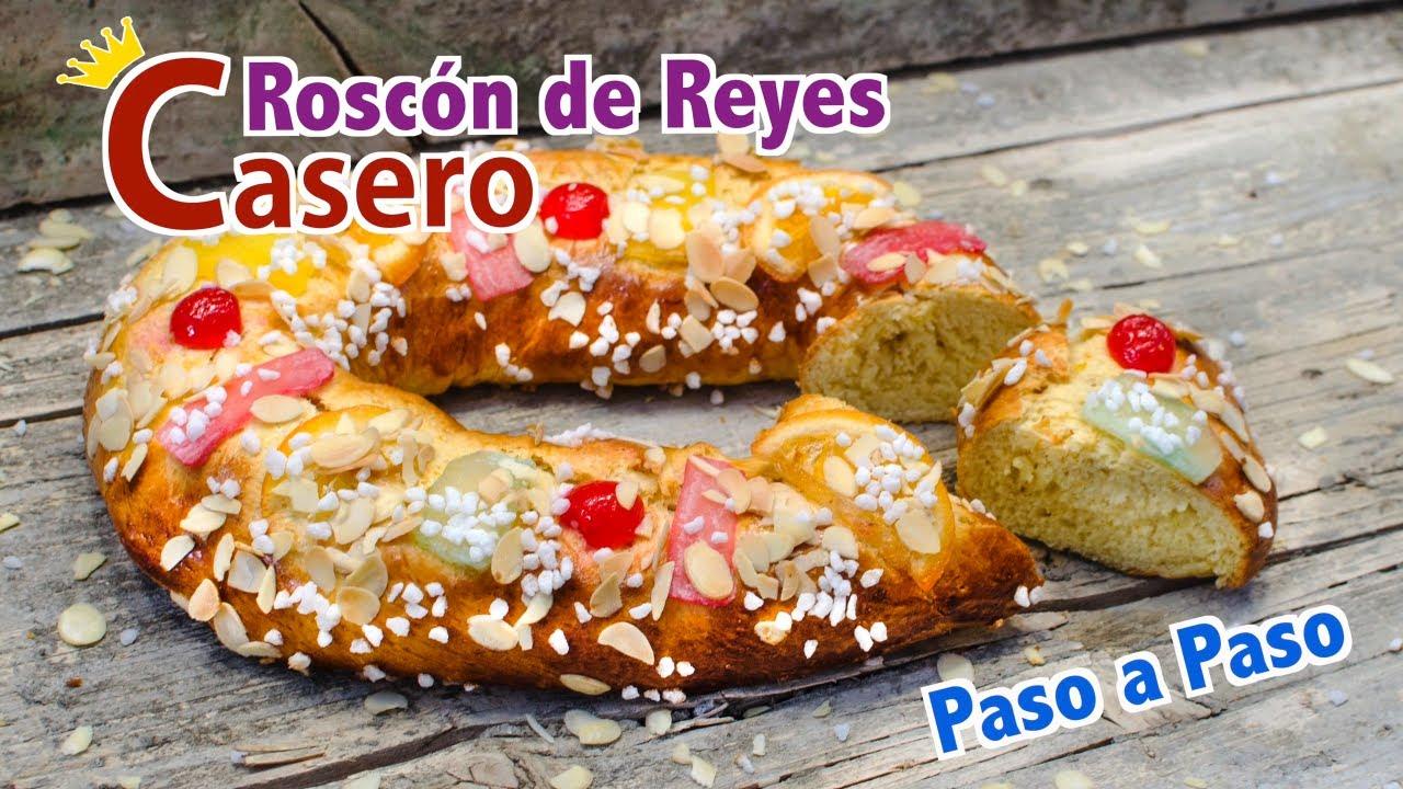 Roscón de Reyes Casero paso a paso muy Esponjoso  | Trucos y Secretos para un Roscón perfecto