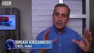 Wearables werden Mainstream sagt Intel CEO