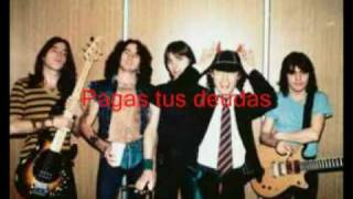 ac/dc subtitulos show business