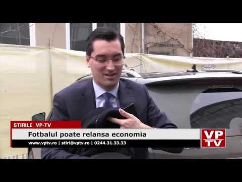 Fotbalul poate relansa economia
