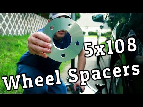 Download Installing 5x108 Hub Centric Wheel Spacers :: 5mm on my Focus ST HD Mp4 3GP Video and MP3