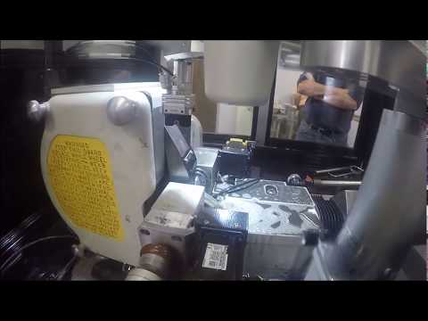 OD Grinding carbide on a Royal Master Centerless grinder without a regulating wheel