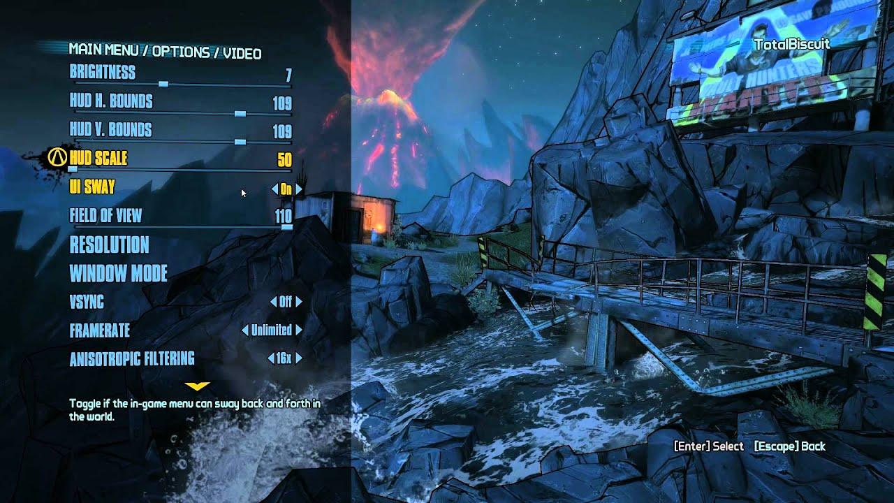 Borderlands 2 Really Does Boast An Impressive Array Of PC Settings