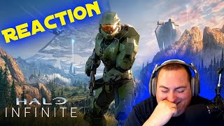 [REACTION] Halo Infinite Campaign Gameplay Premier