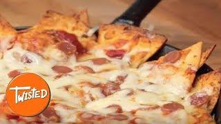 Homemade Pizza Nachos   Best Nachos   Game Day Recipes   Twisted