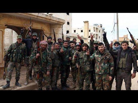 Προέλαση – ρεκόρ των δυνάμεων του Άσαντ
