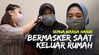Jokowi Tegaskan Semua Warga Harus Gunakan Masker saat Keluar Rumah, Sarankan Kenakan Masker Kain