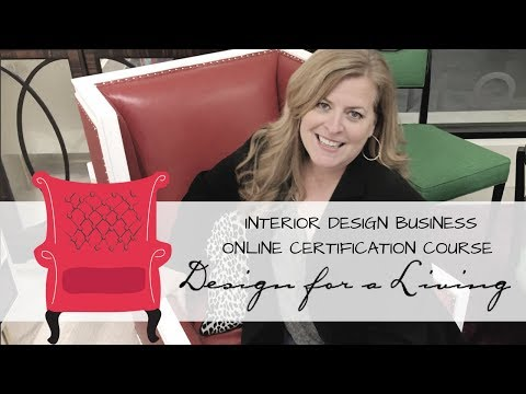 Interior Design Business Online Certification Course - YouTube