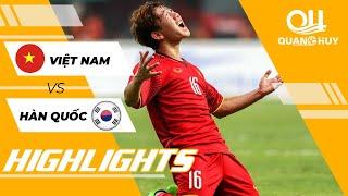 Highlights | Việt Nam vs Hàn Quốc - Phút xuất thần của Minh Vương | Asiad 2018 | BLV Quang Huy