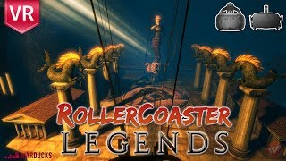 RollerCoaster Legends Transport to the land of Greek mythology on a ride you'll never forget