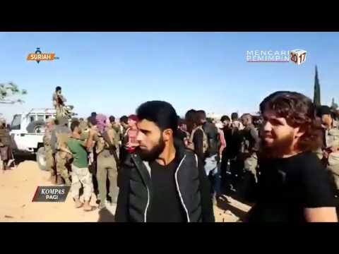 1.200 Anggota ISIS Digempur Turki & Suriah