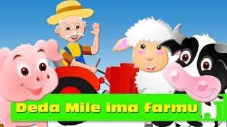 Deda Mile ima farmu   Old MacDonald Had a Farm   Dečije pesme   Pesme za decu