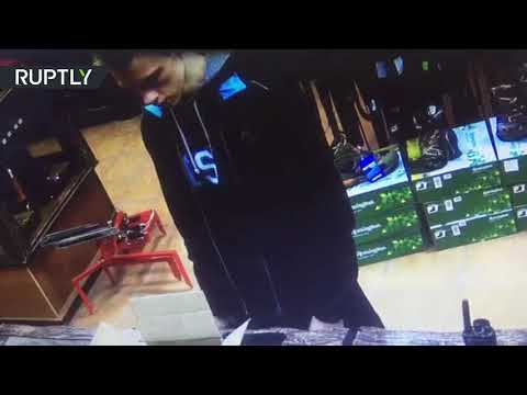 CCTV: Kerch attack suspect buying bullets days before tragedy (EXCLUSIVE)