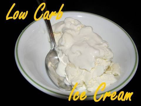 Video Atkins Diet Recipes - Low Carb Ice Cream (IF)