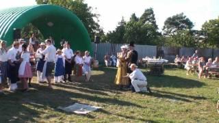 preview picture of video 'Sokolnice, Dožínky 2011, U Husara'
