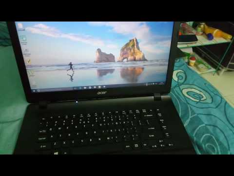 Review of acer ES1-521 cheapest laptop with 4GB ram and 1 TB hard disk