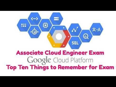 Google Cloud Platform Associate Cloud Engineer Exam Review Bootcamp Top Ten to Know
