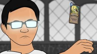How it feels to play HEARTHSTONE