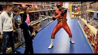 Smyths Toys - Power Rangers Ninja Steel - Kids Parody with Toys!