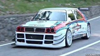Lancia Delta EVO E1 Hillclimb Monster in Action! - PURE Sounds!