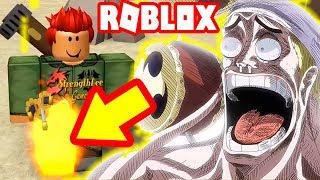 Roblox - Tuyệt Kỹ Chân Lửa Sanji Khiến Thần Enel Sợ Tái Mặt | One Piece Millenium